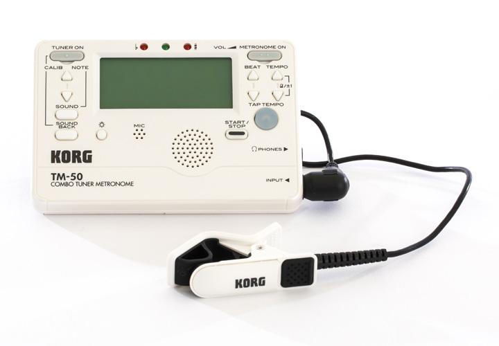 別売の「コンタクトマイク(CM-200W)」を一緒に使用することでより正確にチューニングを行えます。